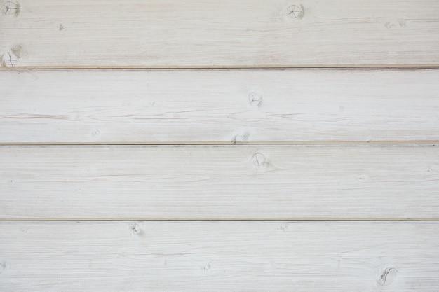 Parete di legno dipinta di tavole disposte orizzontalmente primo piano