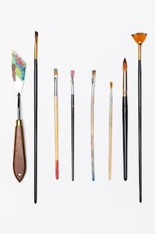 Set di pennelli per pittura
