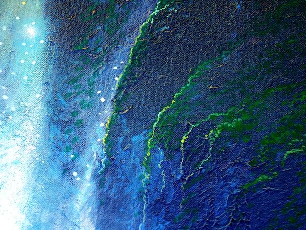 Pittura galassia spazio astratto.