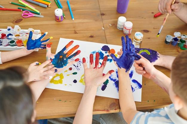 Mani di pittura