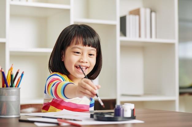 Pittura bambina