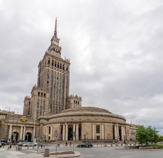 Palazzo della cultura e della scienza a varsavia