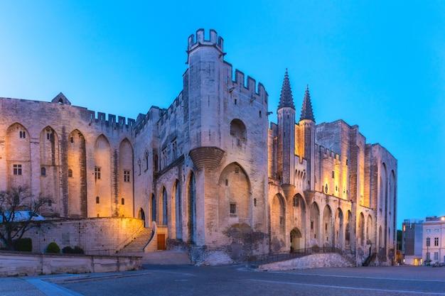 Palazzo dei papi, avignone, francia