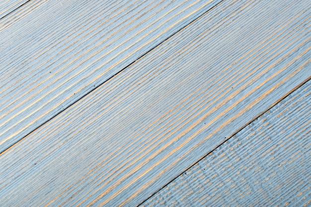 Sfondo di legno blu pallido