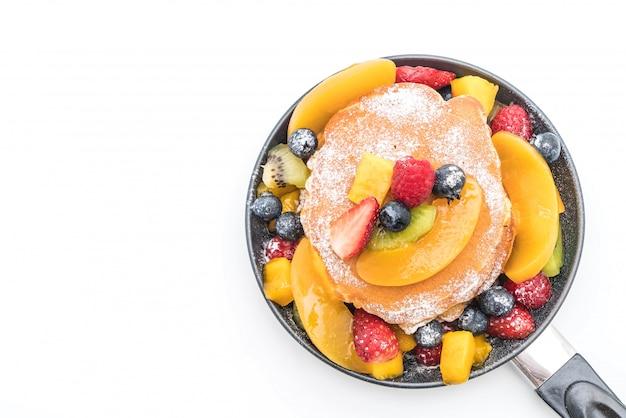 Pancake con frutti misti