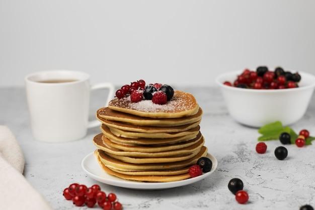 Pancake con beriies