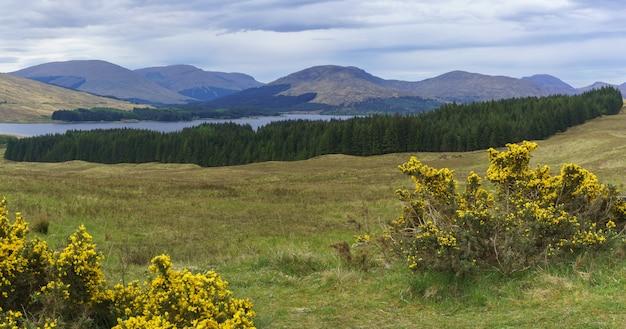 Immagine panoramica dal punto di vista di glencoe, scozia