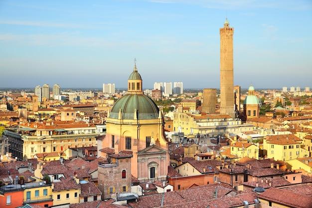 Vista panoramica di bologna, italia