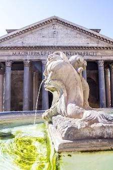 Pantheon a roma Foto Premium