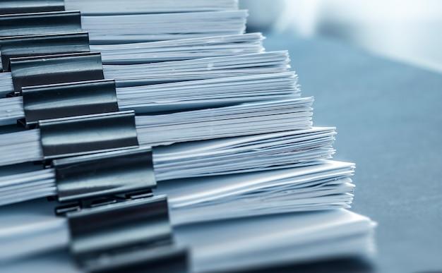 Documentazione dell'ufficio cartaceo