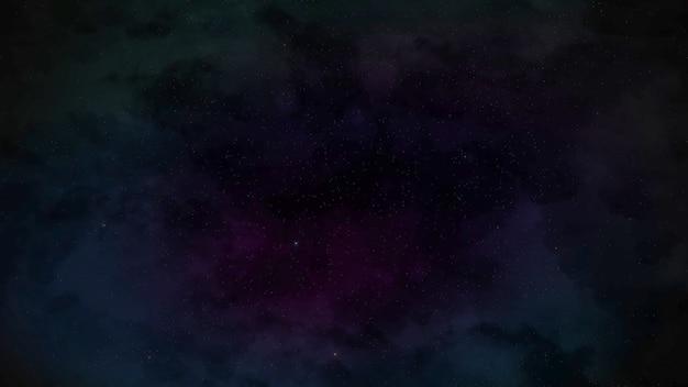 Particelle e stelle nella galassia, sfondo astratto. illustrazione 3d in stile elegante e di lusso per il cosmo
