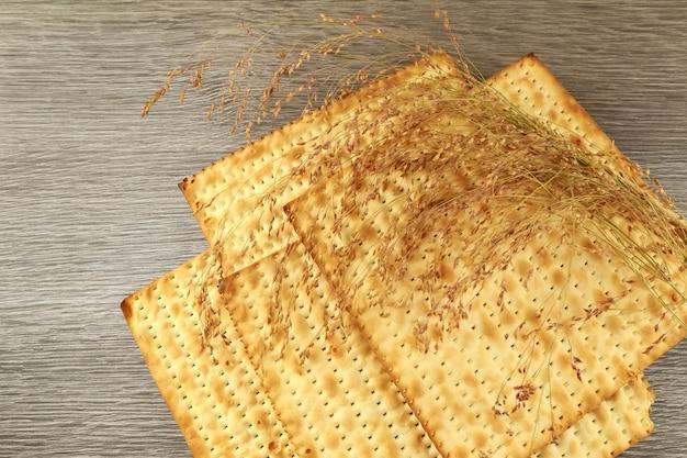 Celebrazione del pane azzimo di festa del pane azzimo di pasqua ebraica