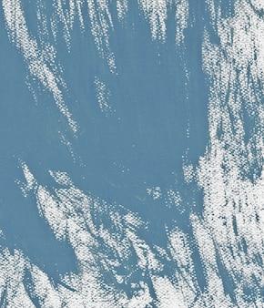 Pastello blu hoki colori pittura acrilica sfondo texture astratta file di scansione ad alta risoluzione fatto a mano