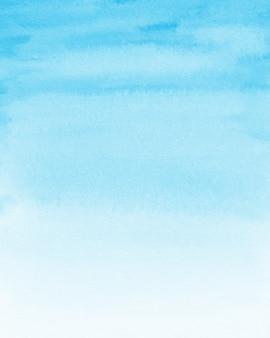 Sfondo acquerello blu pastello