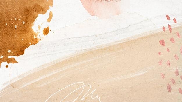 Illustrazione di sfondo sociale di neo memphis pastello