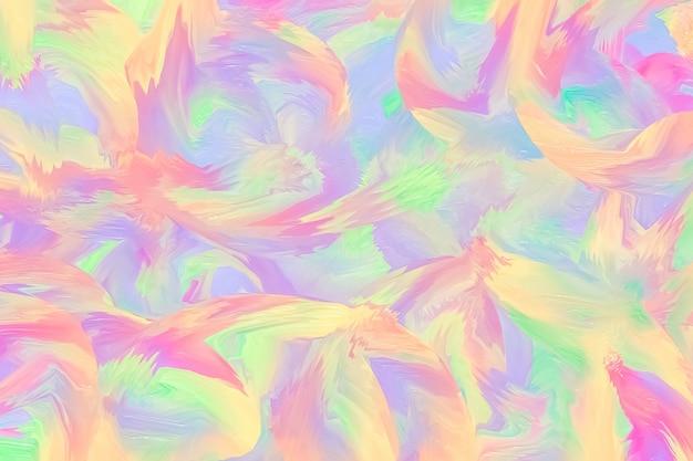 Sfondo dipinto viola e rosa pastello, struttura dell'inchiostro, pennello, fluido. modello leggero con colori ad olio multistrato. fantasia multicolor su tela. disegno di pittura ad acquerello.