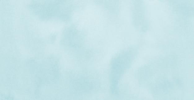Sfondo di texture acquerello blu cielo pastello opera d'arte pittura astratta stile immagine orizzontale