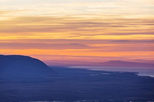 Paesaggi della patagonia nel sud