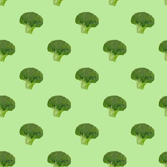Modello di cavolo broccolo. mangiare sano. vegetarianismo.