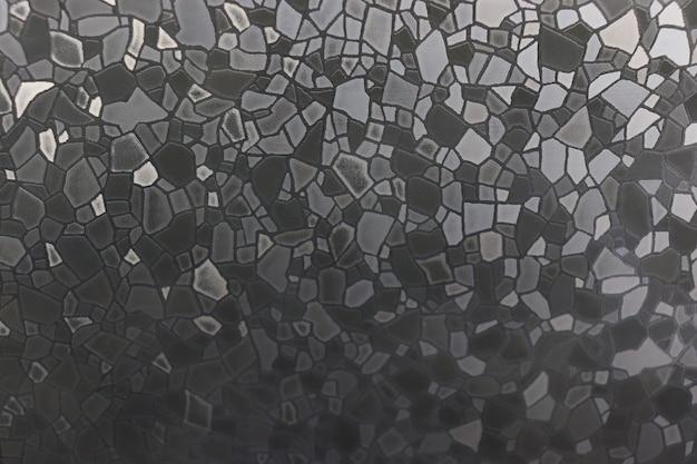 Motivo su vetro un'immagine sulla finestra con colori vivaci
