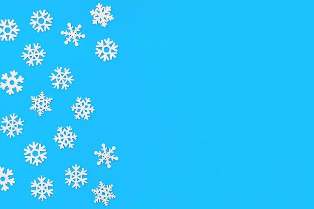 Modello fatto di fiocchi di neve