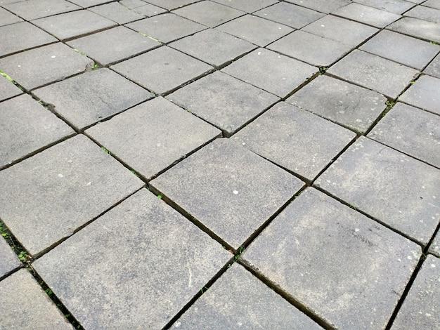 Struttura delle mattonelle della pavimentazione