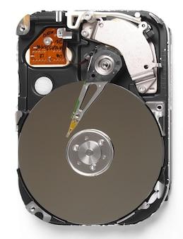 Unità magnetica del disco rigido del pc per l'archiviazione dei dati