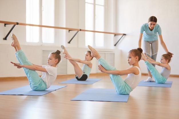 Lezione di educazione fisica