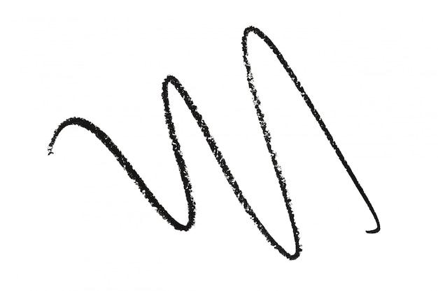 L'arte dell'illustrazione del disegno a matita compone i cosmetici di bellezza