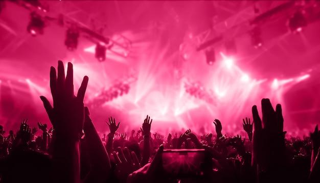 Persone che ballano al concerto