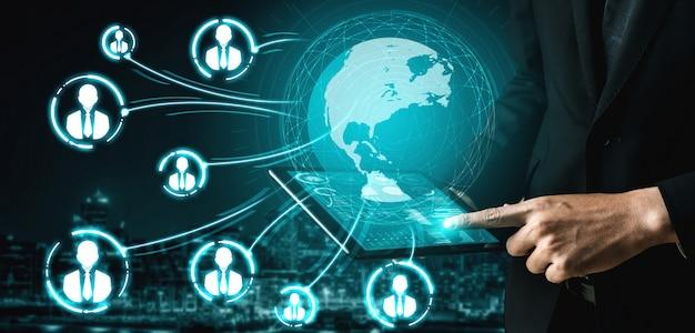 Rete di persone e concetto di comunicazione globale