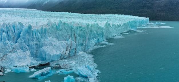 Parco nazionale del ghiacciaio perito moreno vicino a el calafate