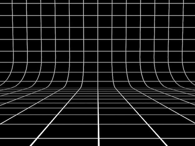 Sfondo della linea di griglia in prospettiva