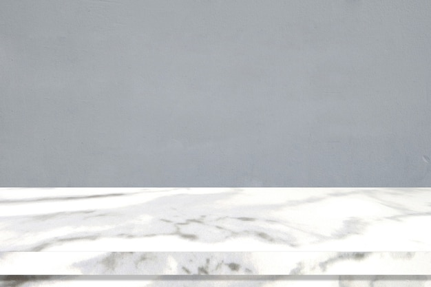 Sfondo della superficie del tavolo in marmo prospettico, piano del tavolo in marmo grigio e bianco per lo sfondo del display del prodotto da cucina