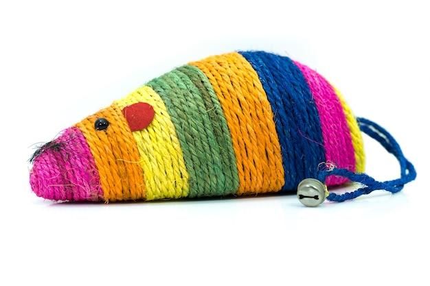 Articoli per animali domestici su topo giocattolo colorato per gatti animali domestici