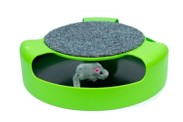 Forniture per animali domestici giocattolo del mouse per gatti animali domestici / giocattoli per gatti per unghie Foto Premium