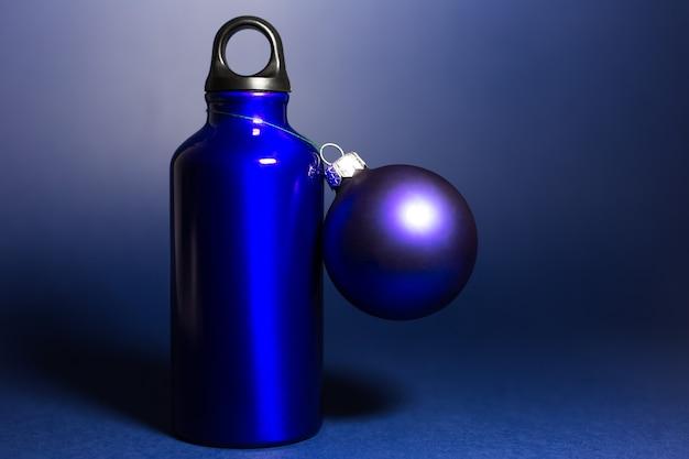 Colore blu fantasma riutilizzabile Foto Premium