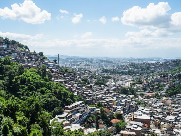 Foto della bellissima e magica città di rio de janeiro e dei suoi luoghi famosi