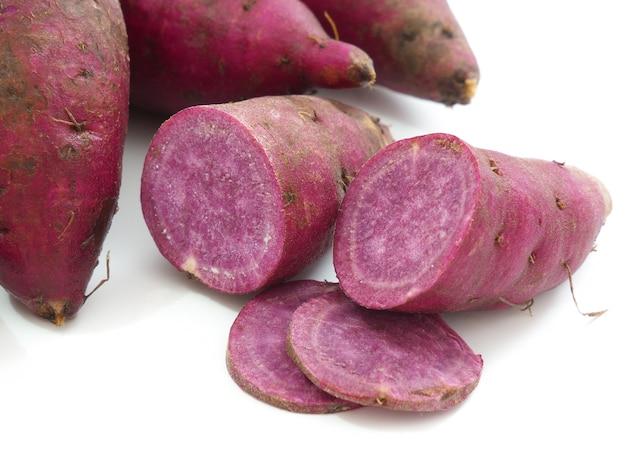 Foto di patata dolce viola