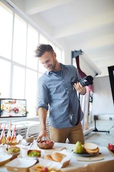 Tabella della regolazione del fotografo in studio
