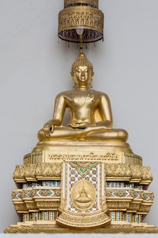 Tempio di phra pathommachedi a nakhon pathom, thailandia