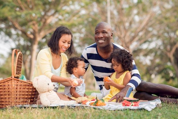 Fare un picnic insieme