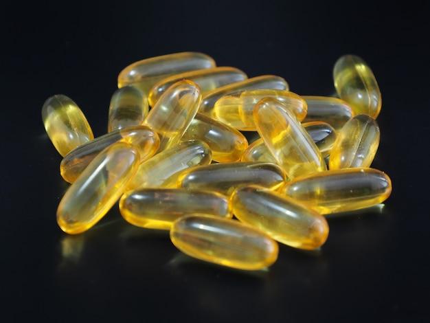 Immagine di olio di fegato di merluzzo omega 3.
