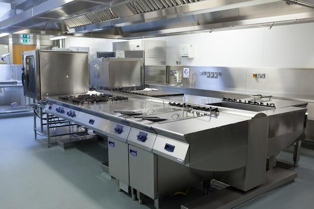Immagine della cucina del ristorante