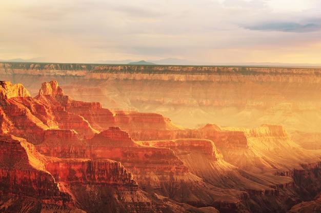 Paesaggi pittoreschi del grand canyon, arizona, stati uniti.