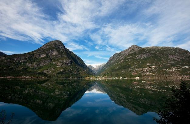Paesaggi pittoreschi della norvegia settentrionale