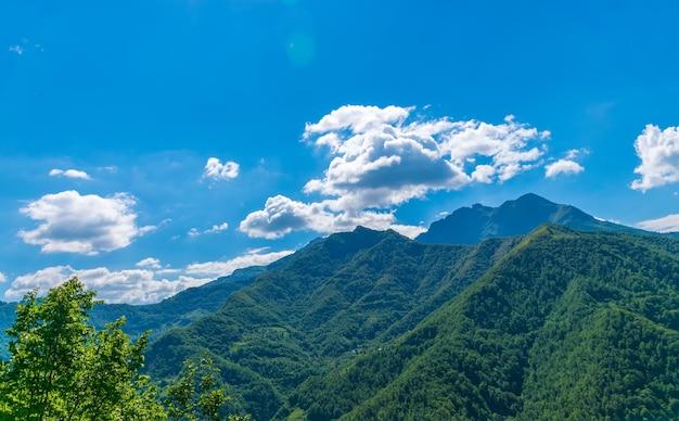 Le montagne pittoresche si trovano nel cuore del montenegro.