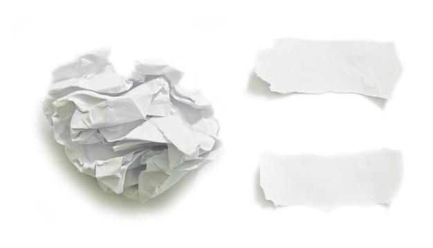 Pezzi di carta strappata sfondo texture con copia spazio per il testo