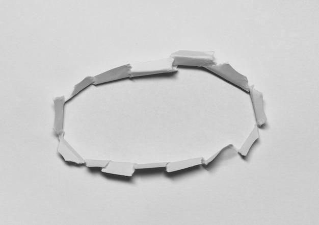 Pezzi di carta strappata sfondo texture con copia spazio