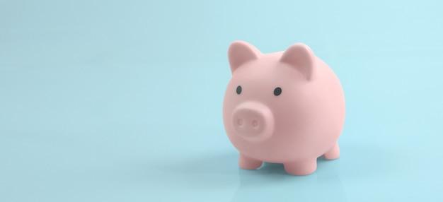 Salvadanaio e finanza risparmio di denaro